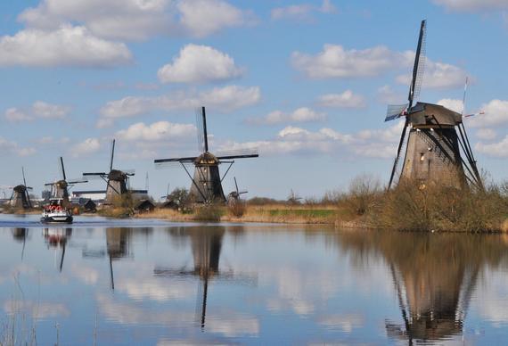 آسیاب بادی در هلند