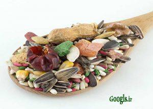 مواد غذایی برای پرندگان
