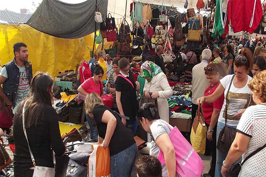 مرکز خرید ارزان در استانبول - بشیکتاش