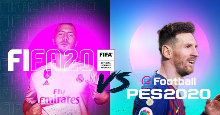 تفاوت های FiFa 20 و PES 2020