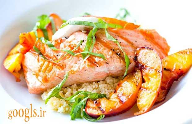 طرز پخت ماهی سالمون