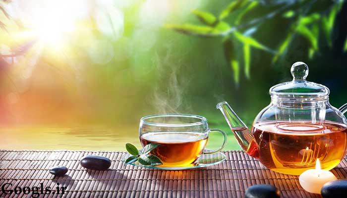 خواص نوشیدن چای