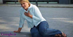 درد قفسه سینه در زنان