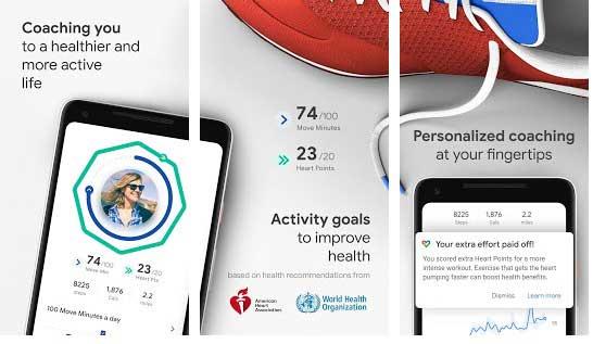 بهترین برنامه تناسب اندام Google Fit