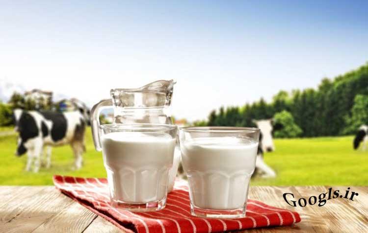 جوشاندن شیر