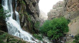 مکان های دیدنی ایران - آبشار نوژیان لرستان