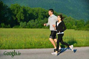 پیاده روی سریع قبل از صرف صبحانه