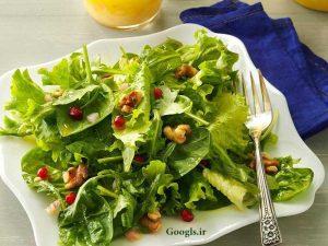 مصرف سالاد قبل از ناهار برای لاغری شکم
